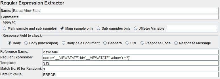 Using JMeter with ASP NET WebForms Authentication